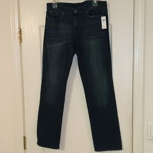 Brand New!! Gap premium straight jeans. Size 10S